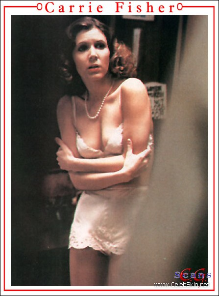 carrie fisher exposed