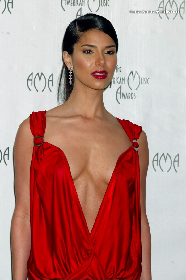 Roselyn Sanchez Hq Paparazzi And See Thru Sey Posing Pictures